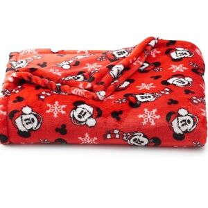 Mickey Christmas Super Soft Plush Throw Blanket